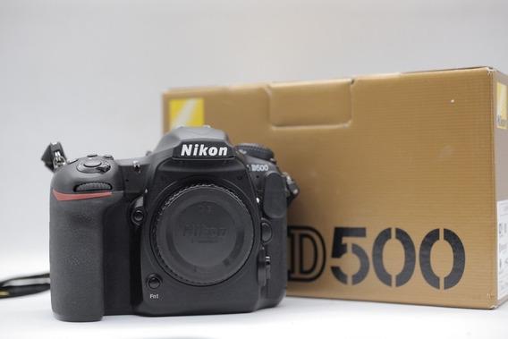 Câmera Nikon D500 20.9mp + Super Kit ( Completa )