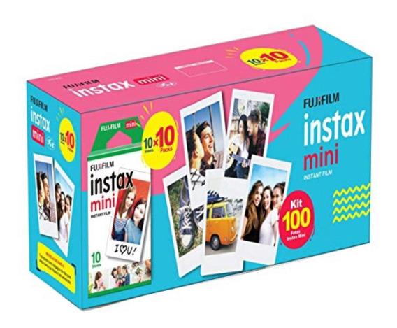Filme Instax Mini Instant Film 100 Poses