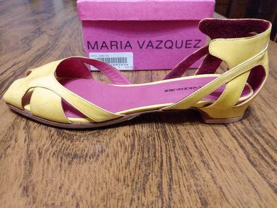 Subasto Zapatos Chatitas Maria Vazquez