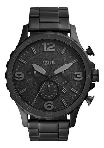 Relógio Masculino Fossil Preto Fosco Jr1401/4pn