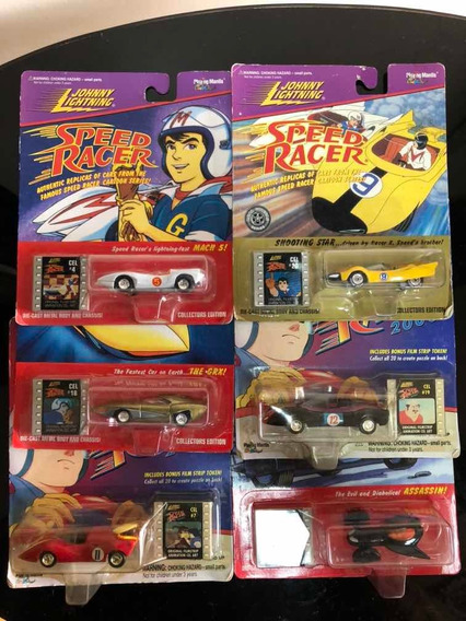 Johnny Lightning Speed Racer X6 Meteoro Enmascarado Mach 5