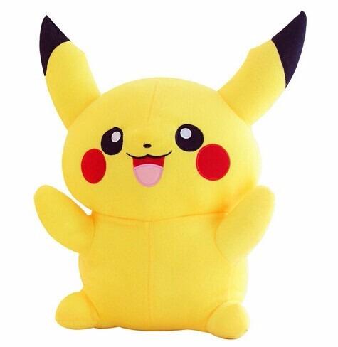 Pokemon Go Picachu Pelúcia 22cm Pokebola Frete Grátis