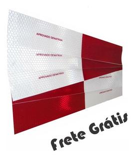Kit 100und Faixa Refletiva Caminhoes, Onibus E Vans Fregrati