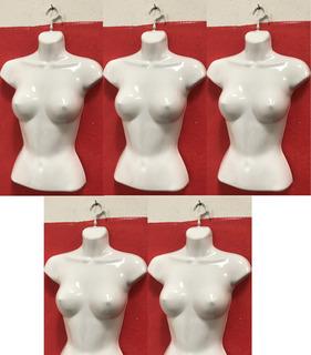 Maniqui Busto Blusa Dama Plastico Flexible Exhibidor