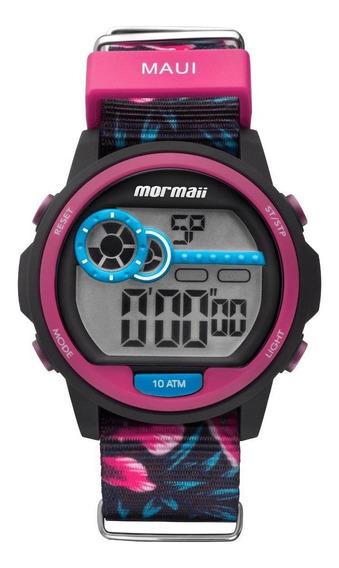 Relógio Mormaii Feminino Maui Luau Digital Mo1462/2t