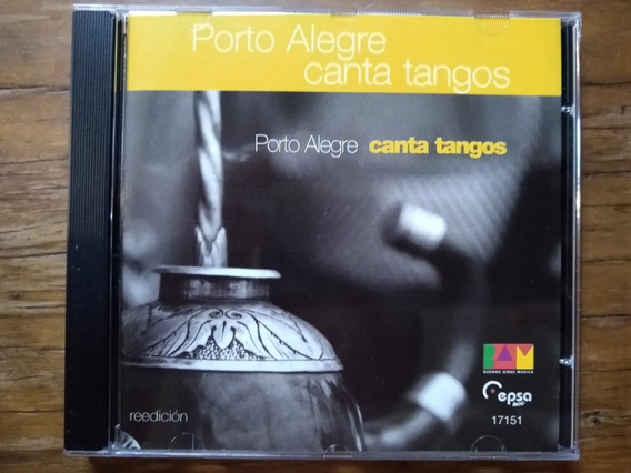 Cd Porto Alegre Canta Tangos 2ª Edição 2 Bônus Vitor Ramil