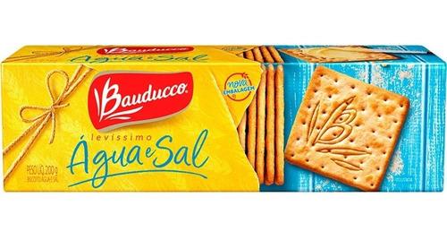 Biscoito Água E Sal Levíssimo Bauducco 200g