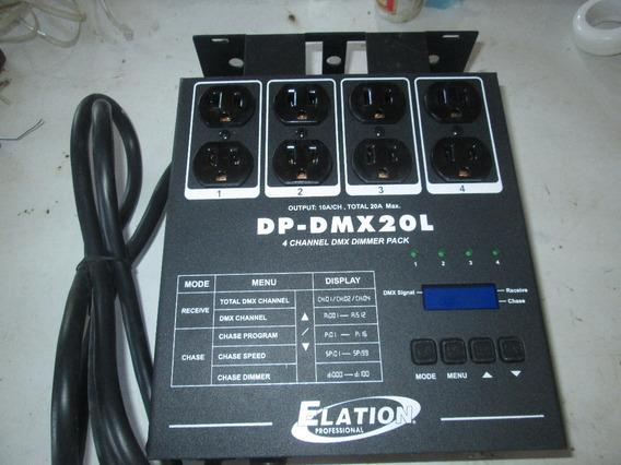 Controlador Elation Dp Dmx20l 4 Caneles (nuevos)
