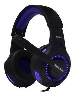 Audifonos Gamer Kolke Spartan Para Pc Ps4 Azul Loi Chile