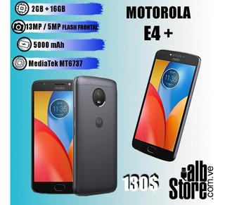 Telefono Motorola E 4 Plus 2gb Ram 16gb Almacenamiento