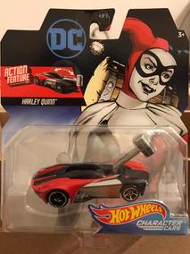Hot Wheels Dc Comics Harley Quinn, Martelo Móvel
