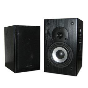 Monitor De Audio Microlab Ativos B72 24wrms 2.0 Bivolt Preta