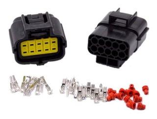 10 Pin Way Cable Conector Impermeable Auto Camion Estanco