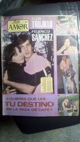 Federico Sanchez Y Flor Trujillo En Fotonovela Dulce Amor