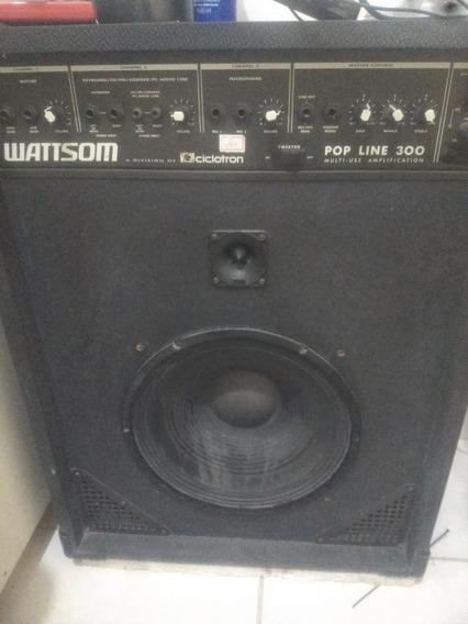 Caixa De Som Multiuso Wattsom Pop Line 300 Top Extra