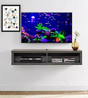 Repisa Minimalista Flotante Para Tv 120 Cm