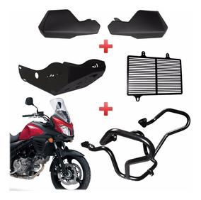 Kit Protetores Motor / Radiador / Carter E Mão V-strom 650xt