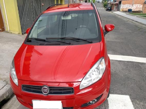 Fiat Idea 2013 Motor 1.4 Vermelho 5 Portas