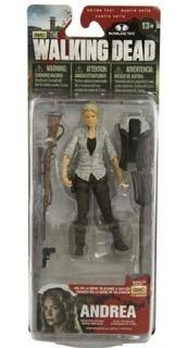 Muñeco Personaje Andrea Walking Dead Coleccion Rdf1