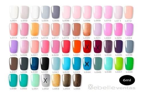 Esmalte Semipermanente Led Uv 6ml Muchos Colores / Envio Ya!