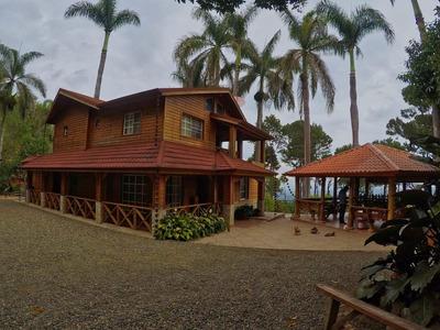 Villa De Venta En Las Montaña De Jarabacoa Vía Pedregal