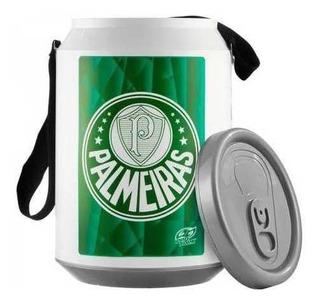 Cooler Térmico Do Palmeiras Capacidade 24 Latas Com Alça