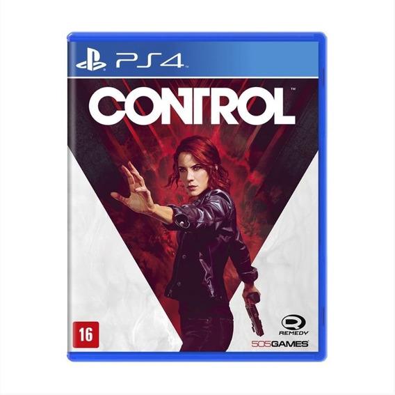 Control - Ps4 - Mídia Física