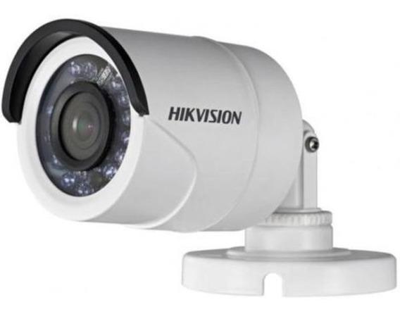 Cámara Hikvision 720p 1mp Turbo Hd Carcasa Metálica
