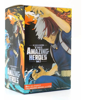Shoto Todoroki The Amazing Heroes Vol. 2 + My Hero Academia