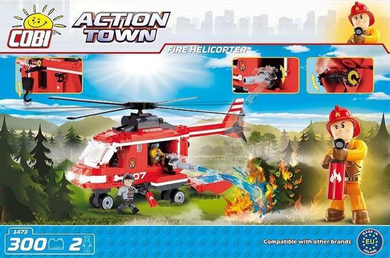 Helicoptero De Rescate- Bloques Para Armar-