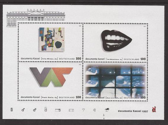 Alemania 1997 Bloque Diseños De Alemania Mint - 028