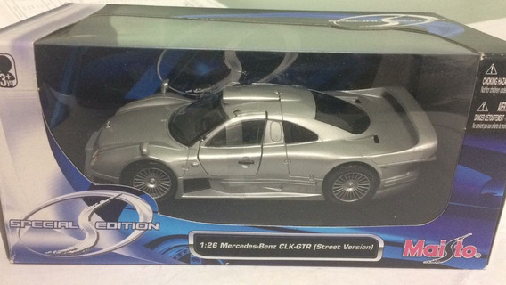 Merceders Clk-gtr (street Version) - Maisto 1:26 No Jaguar