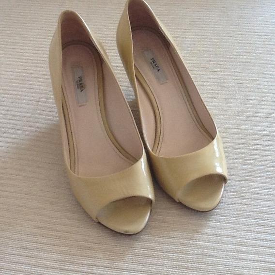 Sapato Prada Original Plataforma - Tamanho 37