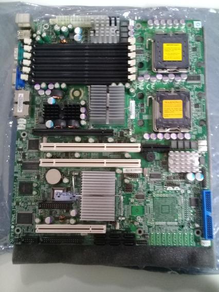 Placa Mãe Supermicro X7dvl-i Dual Xeon