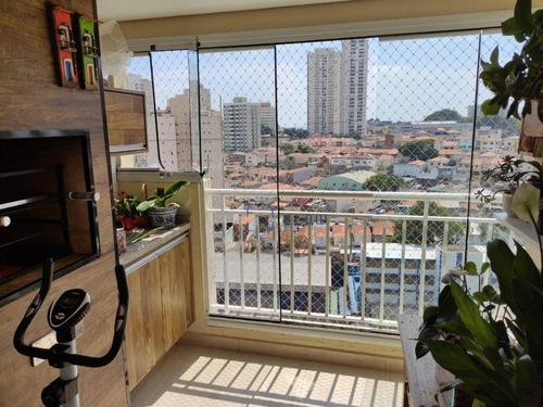 Apartamento À Venda, 75 M² Por R$ 630.000,00 - Ipiranga - São Paulo/sp - Ap12293