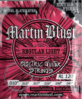 Encordado Martin Blust De Electrica 010-046 - Los Chiquibum