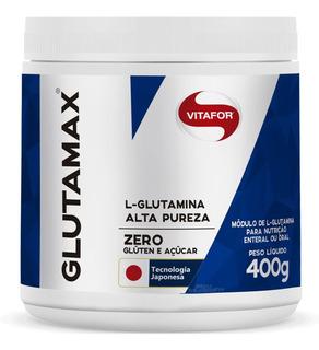 Glutamax 100% Glutamina 400g Vitafor - Tecnologia Japonesa