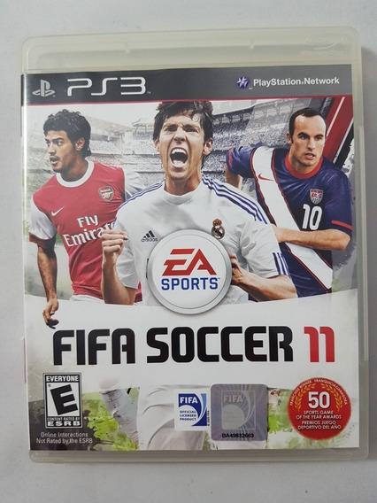 Fifa Soccer 11 Ps3 Mídia Física Pronta Entrega