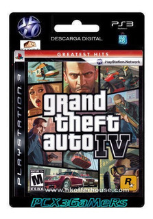 Ps3 Grand Theft Auto Iv Gta4 Pcx3gamers Pcx3...