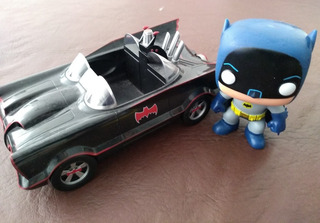 Funko Pop Batman Con Batimovil