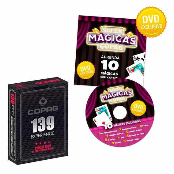Super Magicas Copag Baralho 139 Experience Poker Size