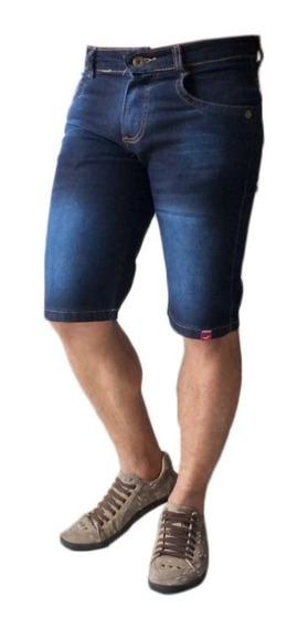 Bermuda Shorts Jeans Sarja Coloridas Lançamento Promoção