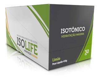 Isotônico Iso Life Caixa 30 Unidades Hidratação Máxima