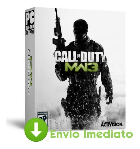 Call Of Duty Pc Modern Warfare 3 Todas Dlcs Brinde 2019