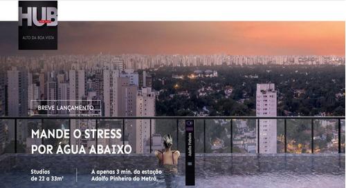 Imagem 1 de 14 de Alto Da Boa Vista Studios De 22 A 31m², Com Lazer Completo.