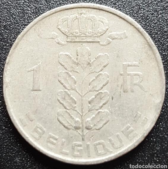 Belgica Moneda De 1 Franco Año 1952