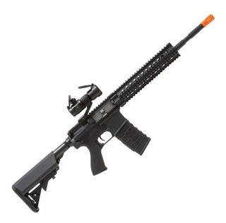 Rifle G&g Cm16 R8-l Airsoft Mira Top Holográfica Nf Garantia