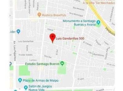 Terreno Primera Transversal / Luis Gandarillas / Cerca Pajaritos. Consolidado