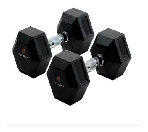 Mancuerna Hexagonal Engomada Ranbak 055 15 Kg X Ud + Envio