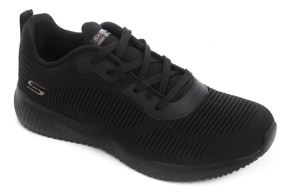 Tênis Skechers Feminino Bobs Squad Tough Talk 3250